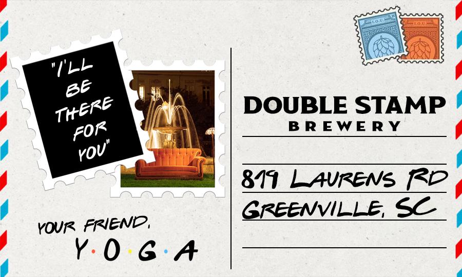 Double Stamp Yoga