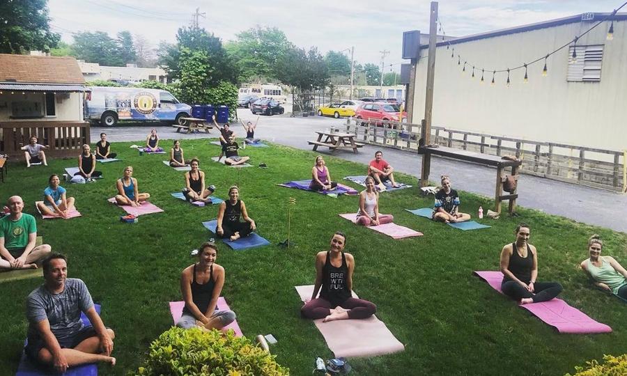 Hatha & Hops Yoga